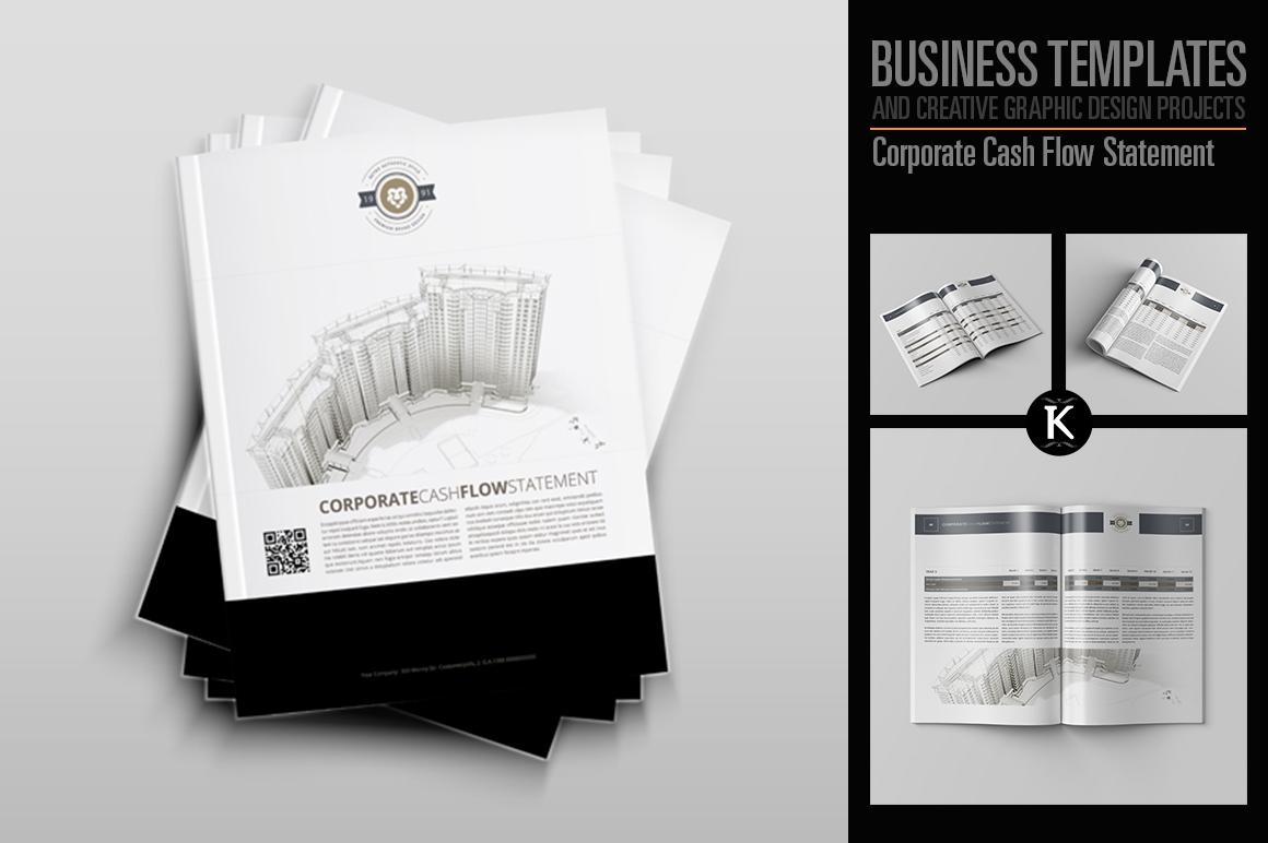 Corporate Cash Flow Statement example image 1