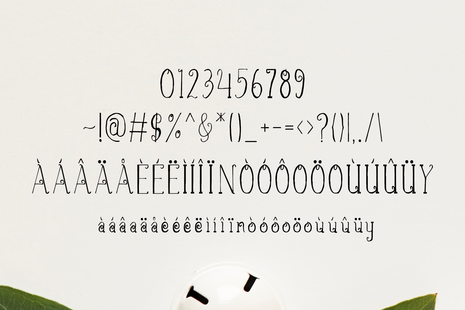 Christmas Script Font example image 3