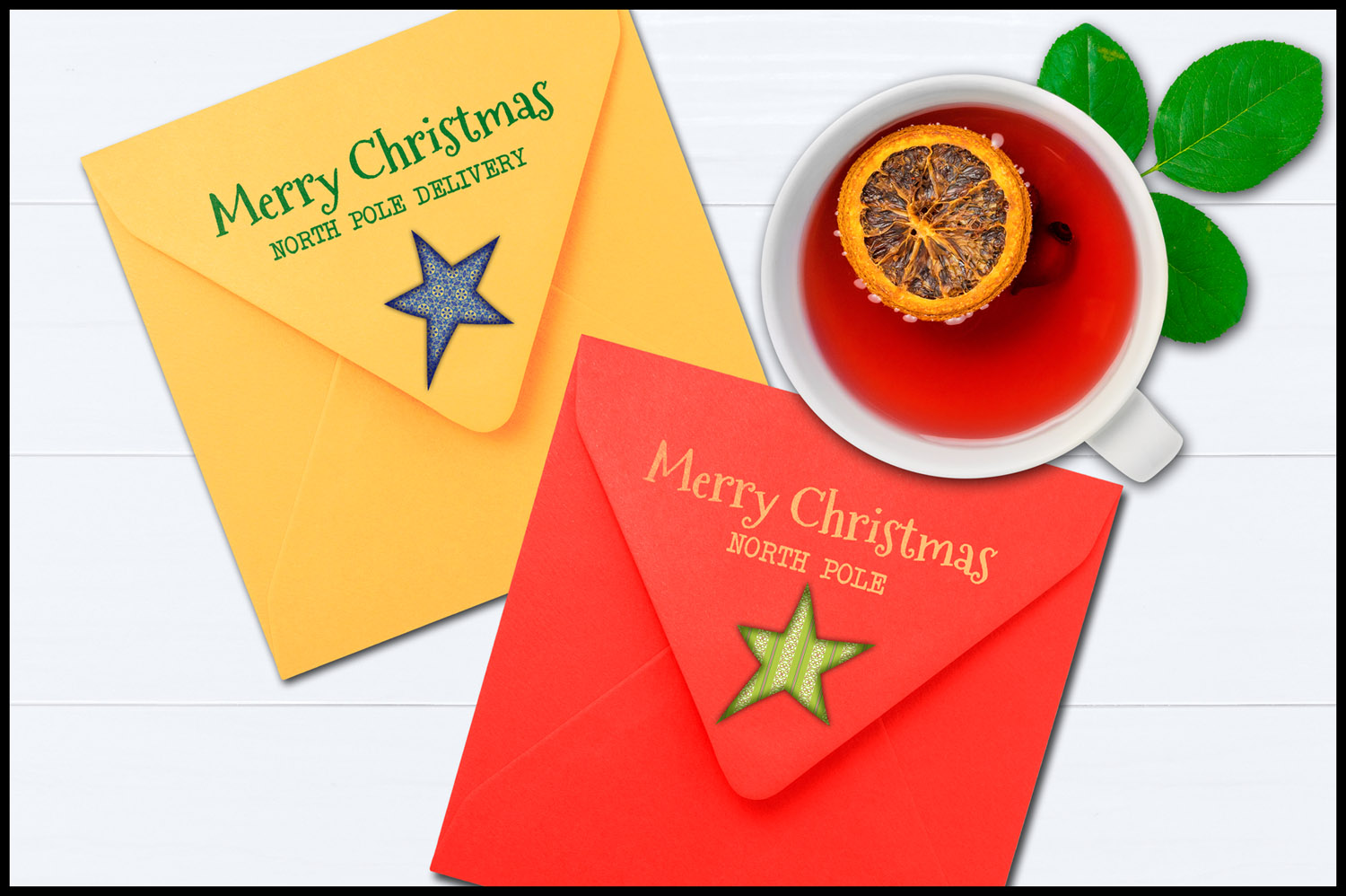 Christmas Clip Art, Holiday Primitive Stars example image 5