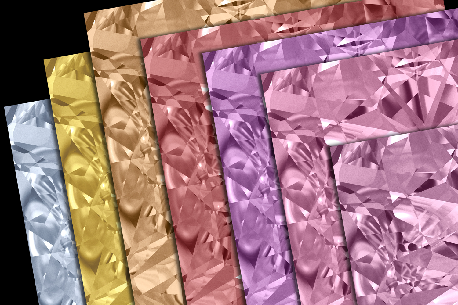 Gemstone Textures Pack 2 example image 2