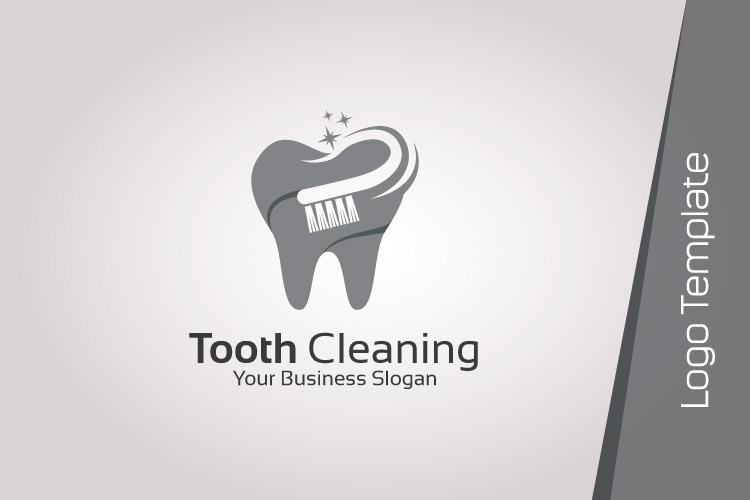 Dental Logo Template - Tooth Cleaning example image 5