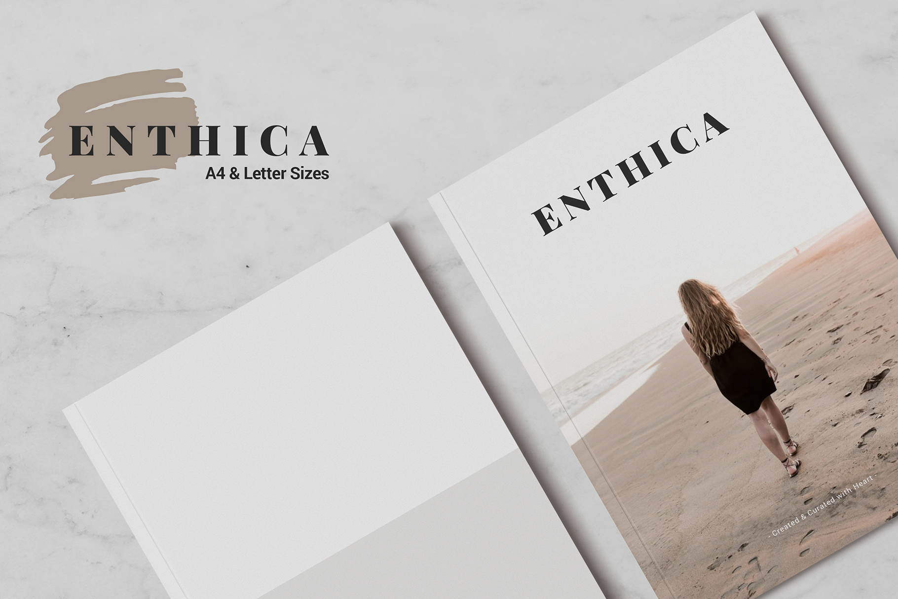 ENTHICA Brochure Templates example image 1