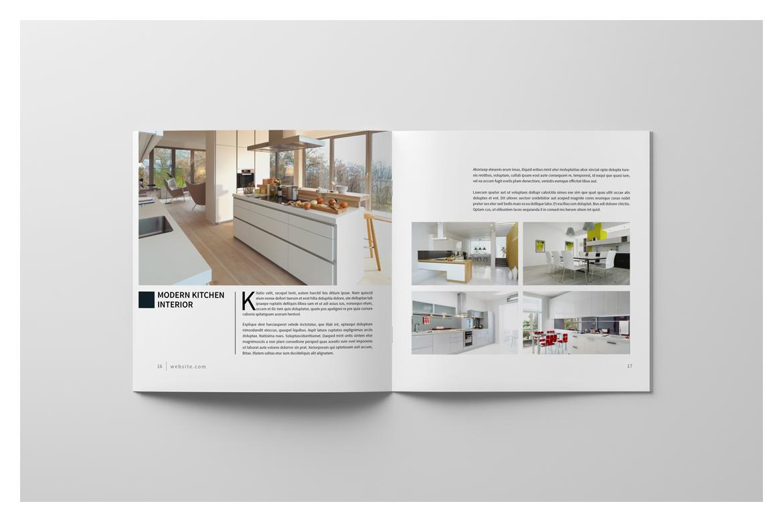 Square Brochure Catalog example image 12