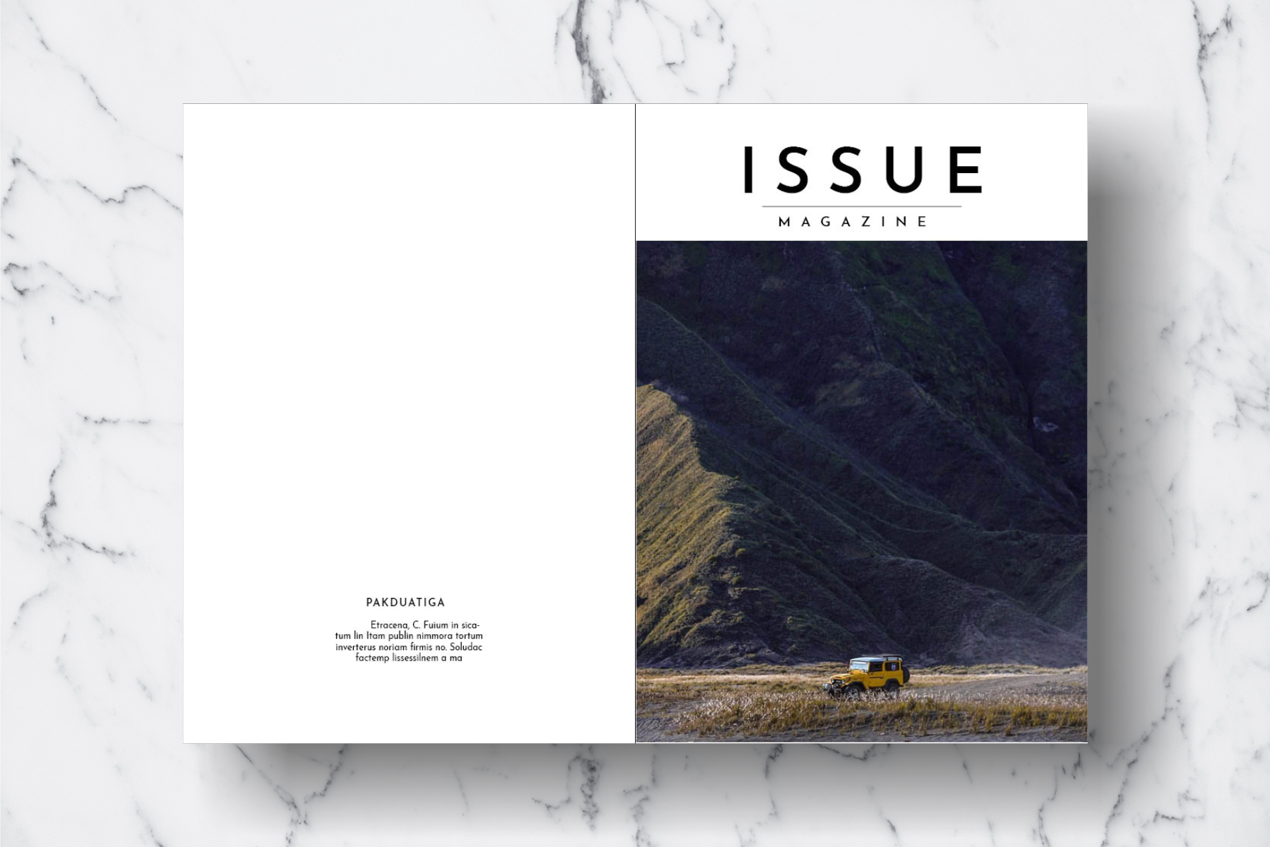 Magazine Template Vol. 18 example image 17
