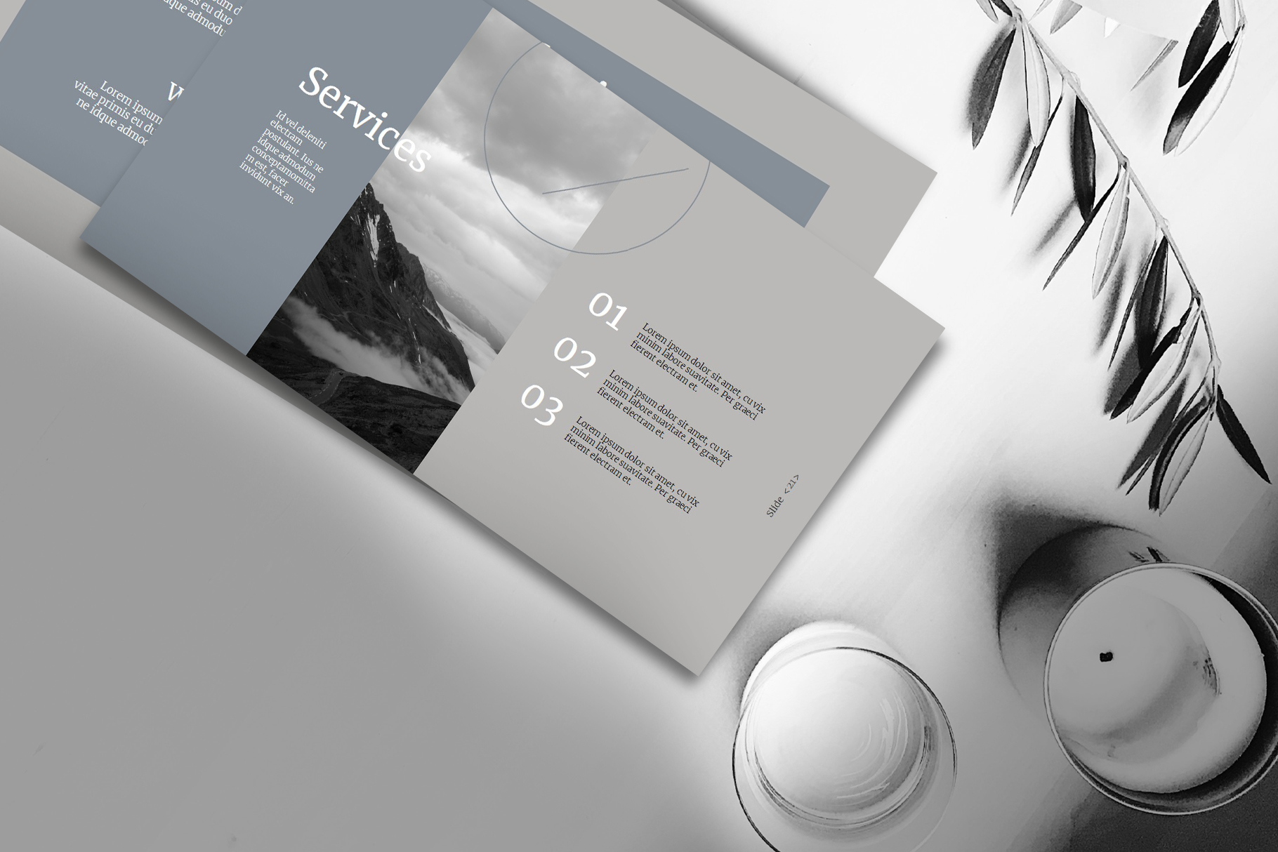 Corporate Powerpoint Templates example image 6