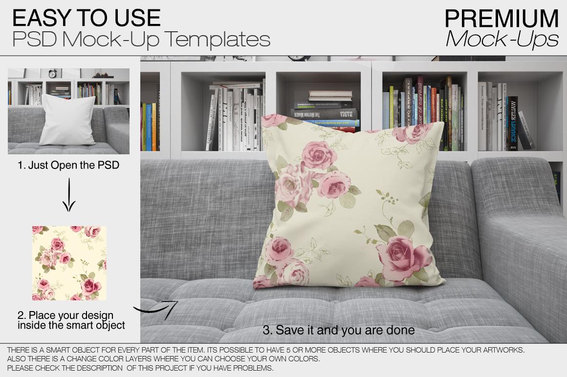 Pillows Mockup Set example image 8