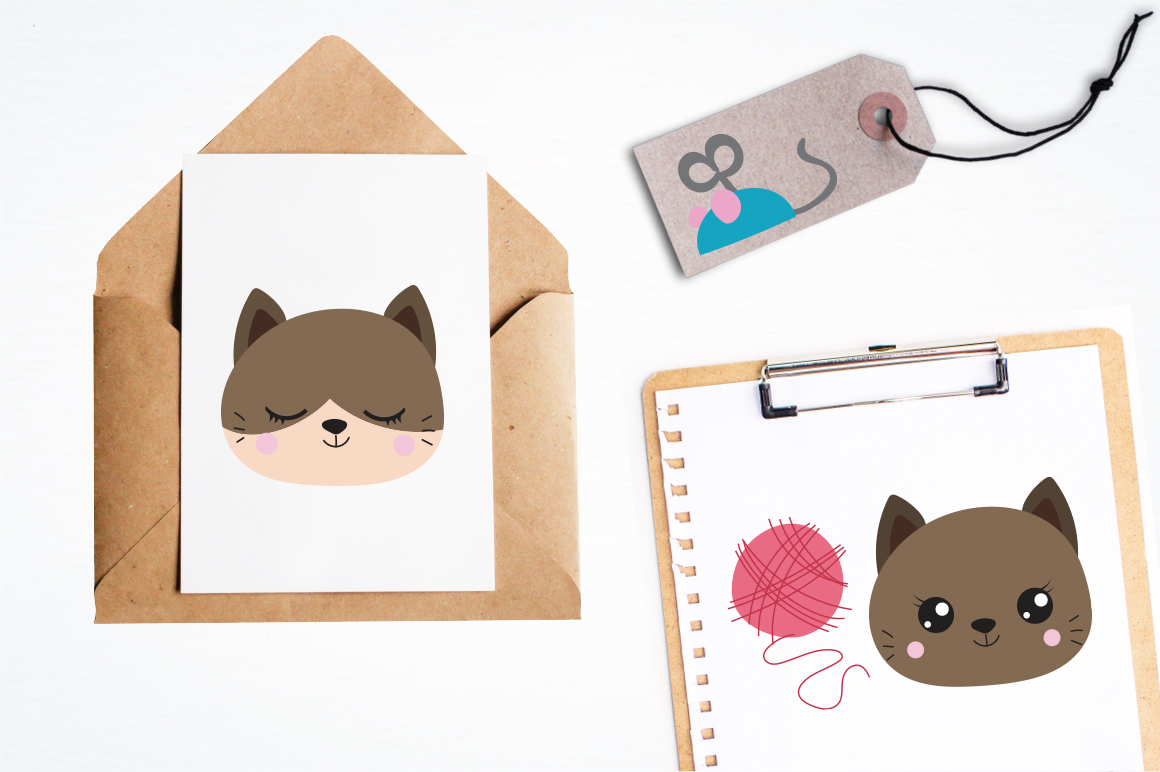 Cats graphic and illustrations example image 4