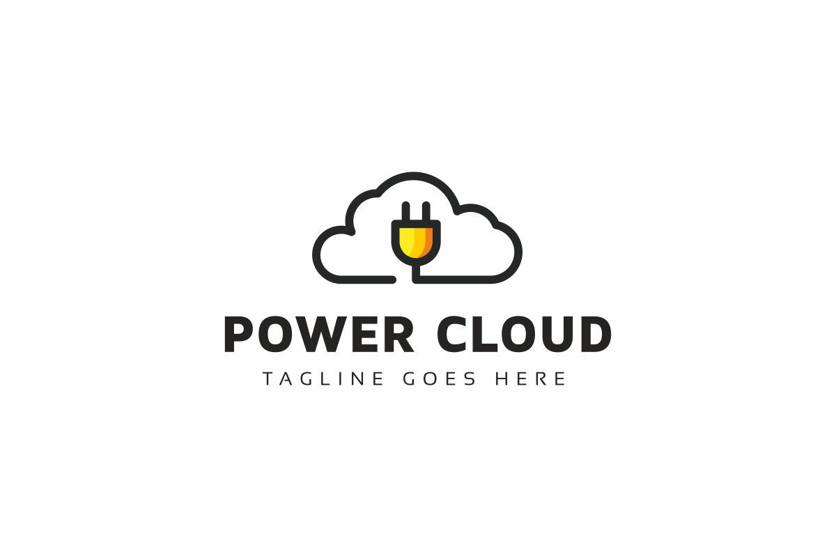 Power Cloud Logo example image 1