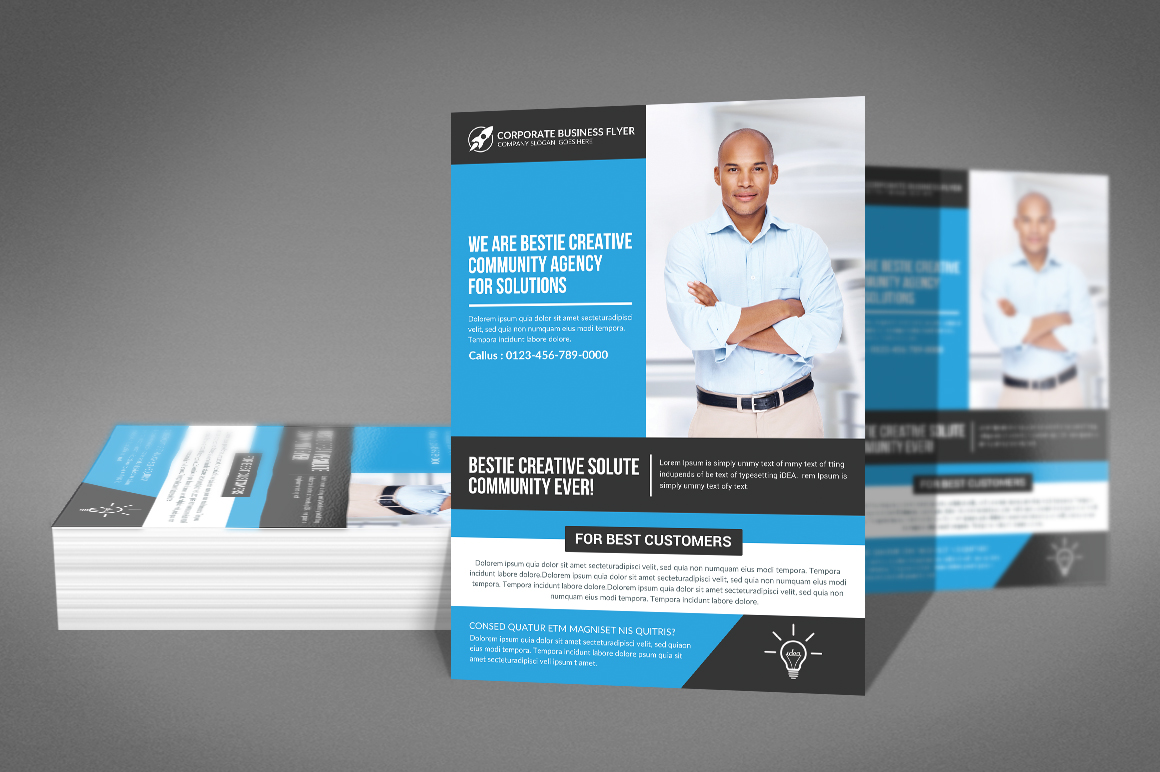 Corporate Business Solution Flyer example image 2