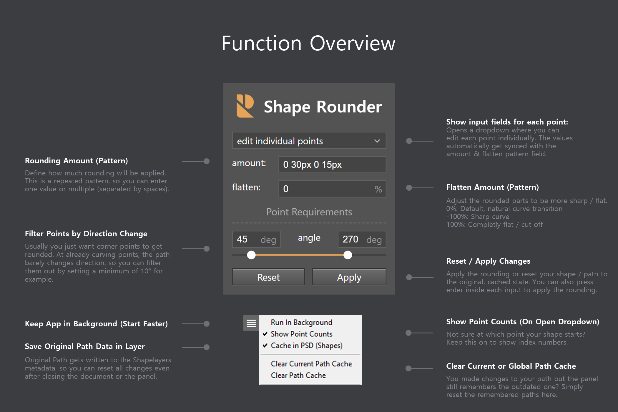 Shape Rounder - Path Editing Kit example image 6