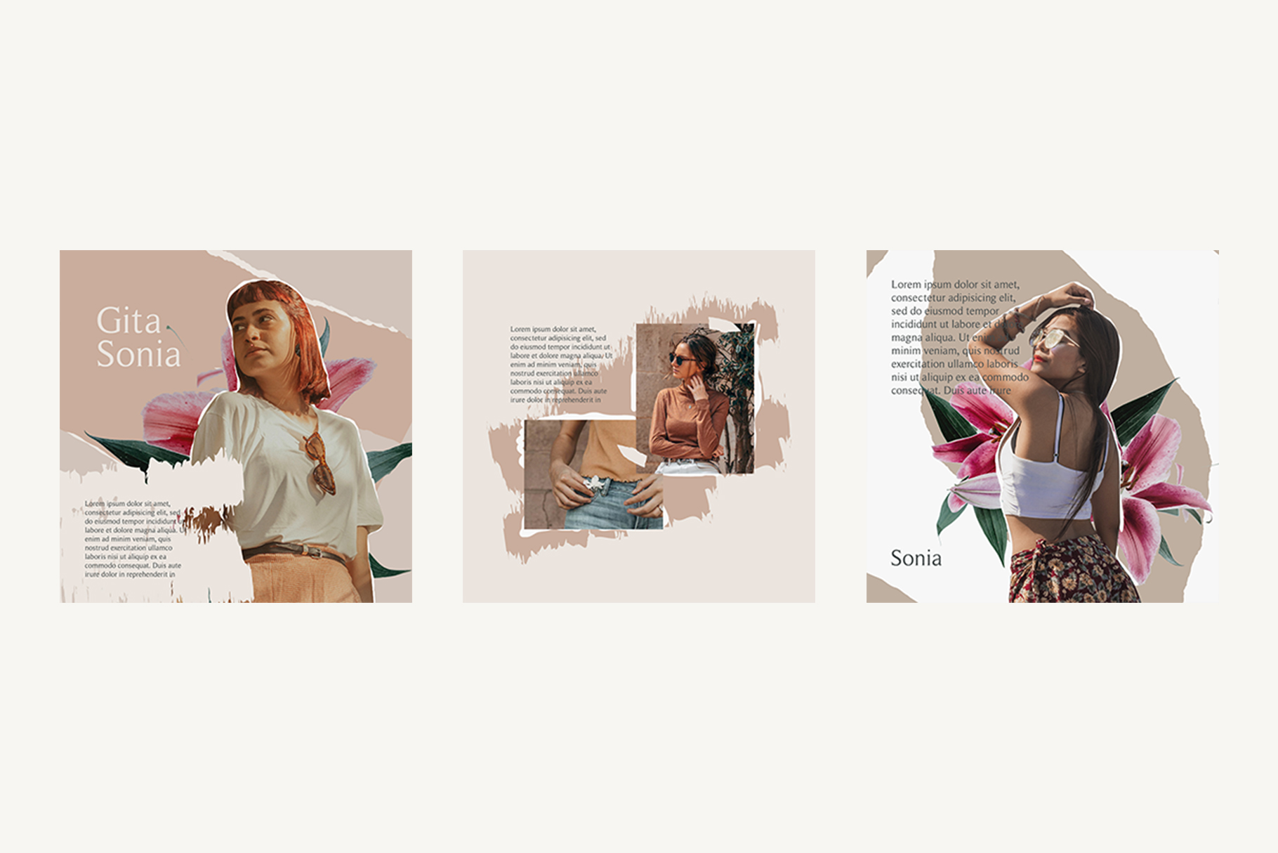 Moody Instagram Templates example image 5