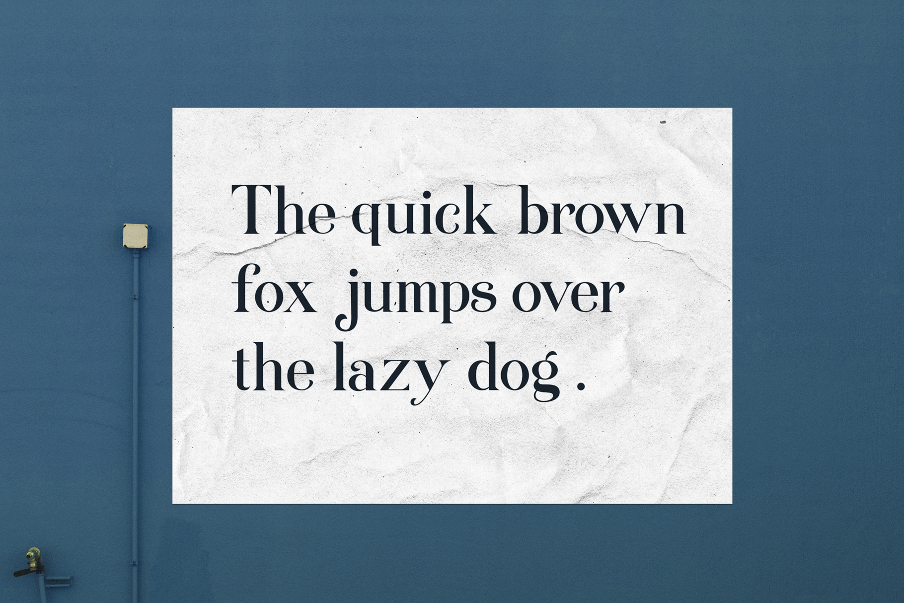 Queenstown serif font example image 6