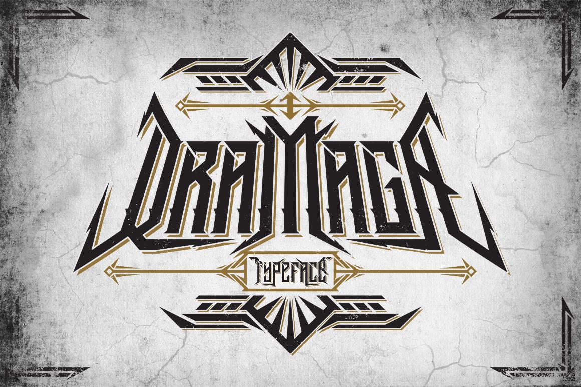 Dramaga Typeface example image 1