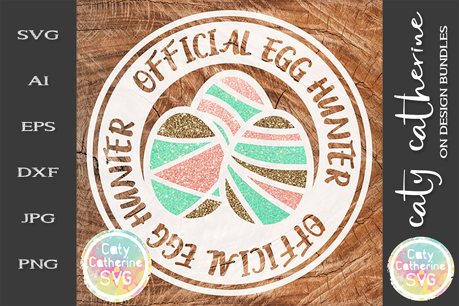 Official Egg Hunter Easter SVG example image 1