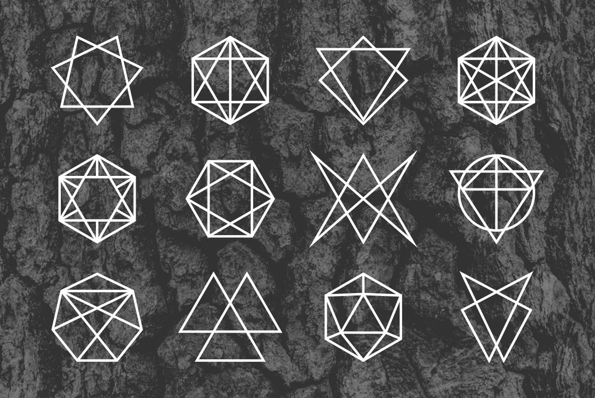 24 Occult Symbols Plus 4 Free Photos example image 3