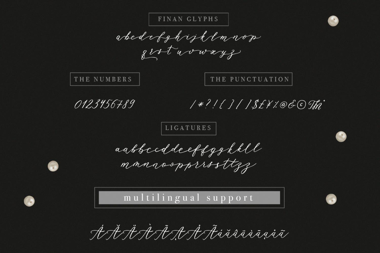Rhapsody Font example image 5