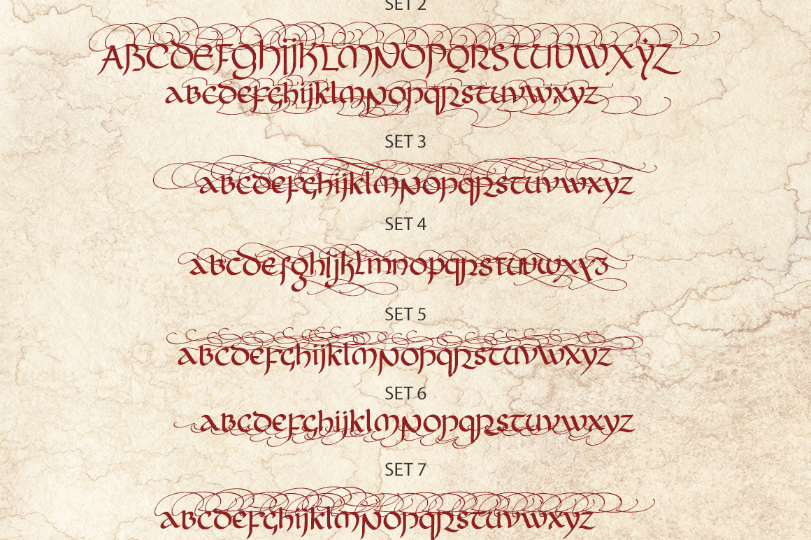 Rivendell. The full of magic font. example image 15