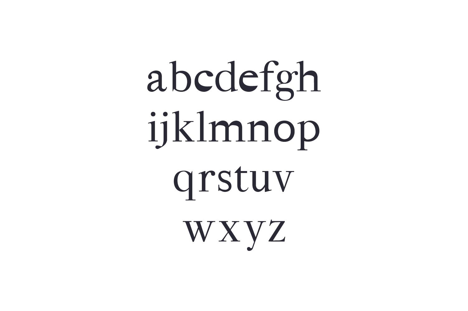 Hagito Serif Font Family example image 3