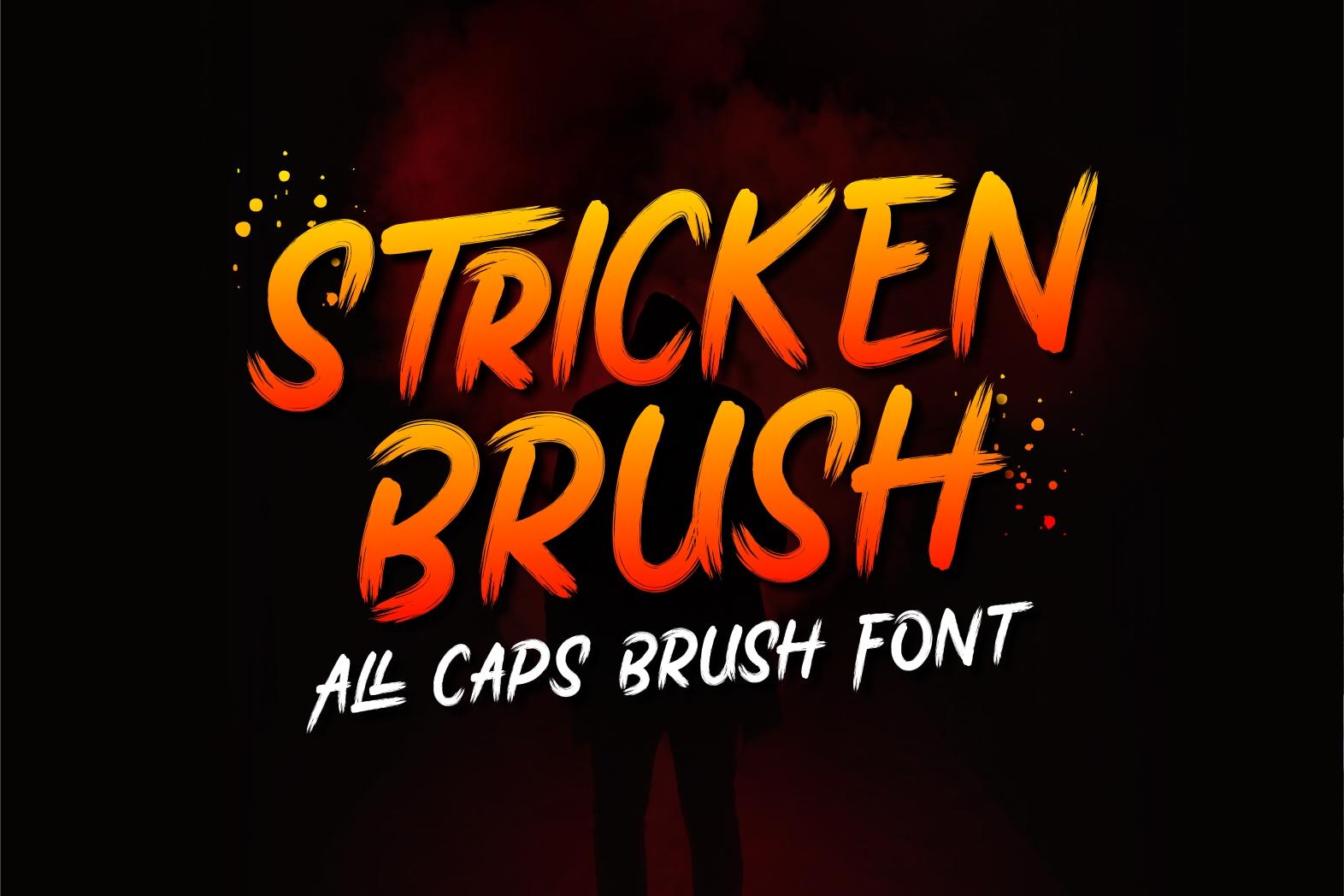 Stricken Brush example image 1
