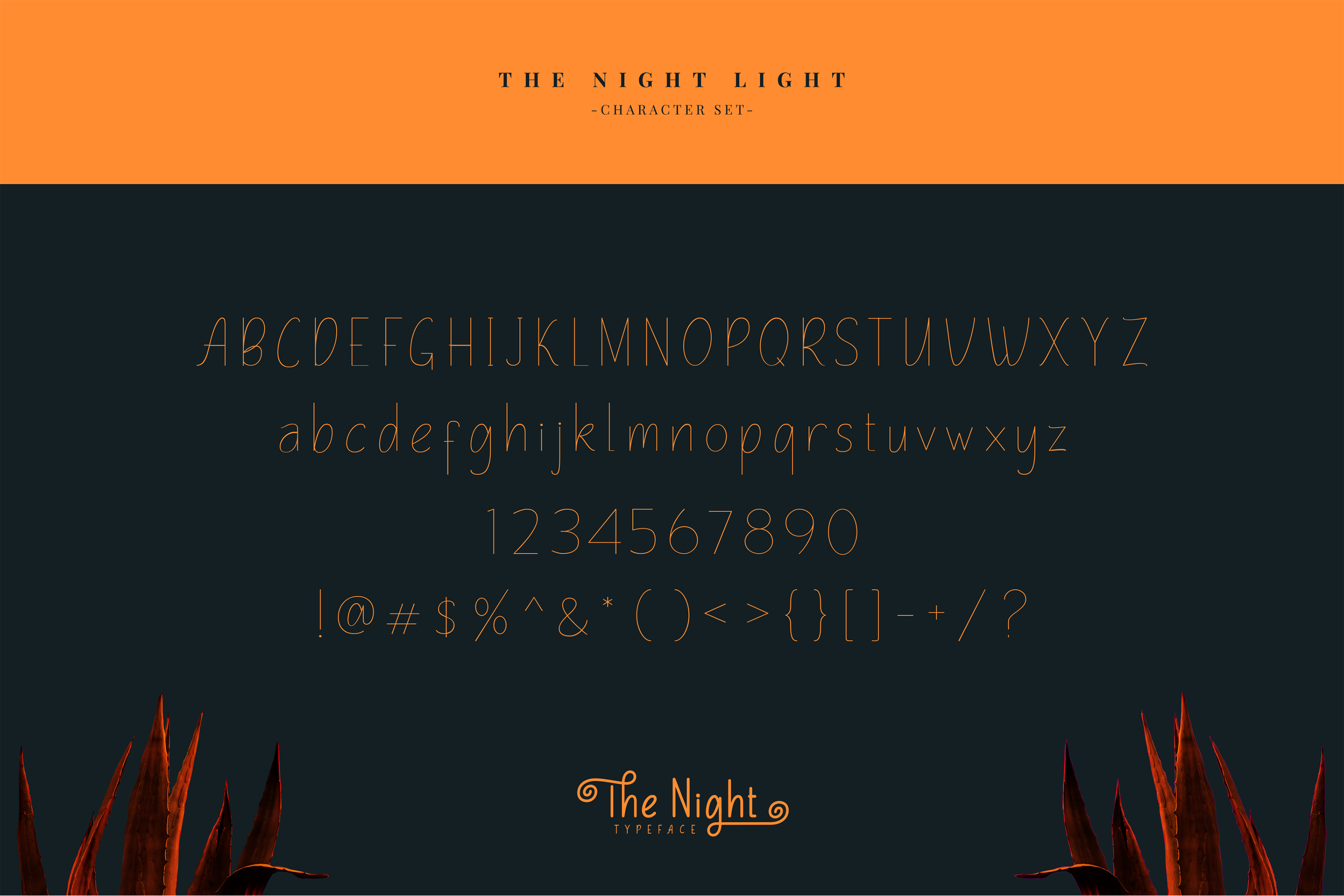 The Night Typeface example image 10