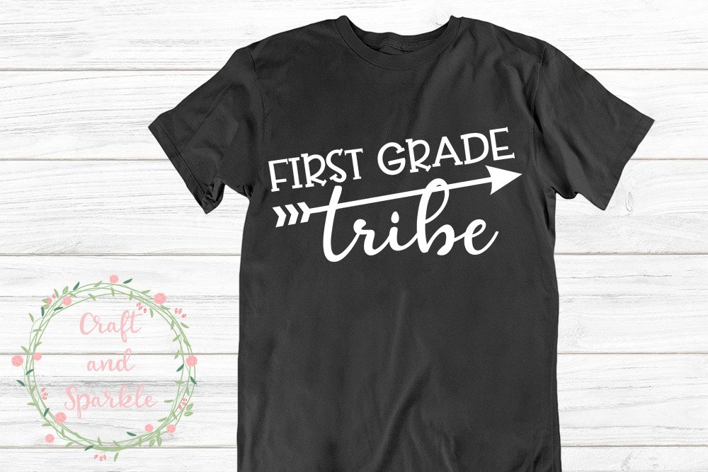 First Grade Tribe - Teacher Tribe svg example image 1