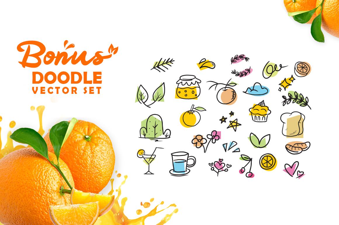 Orange Squash Script example image 7