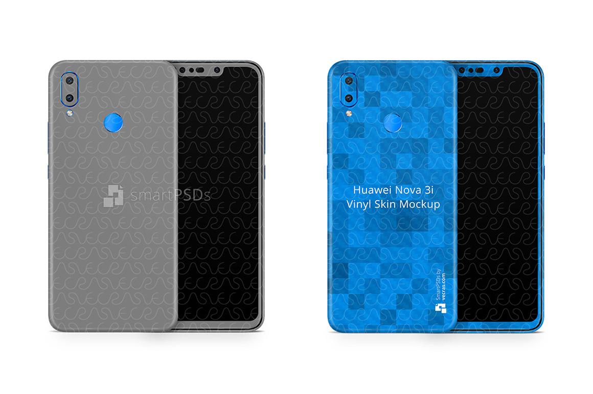 Huawei Nova 3i Vinyl Skin Design Mockup 2018 example image 2