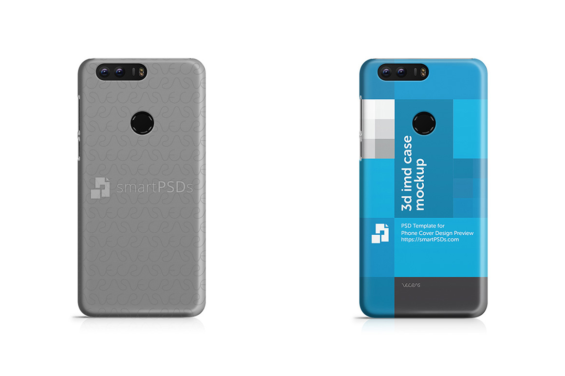Huawei Honor 8 3d IMD Mobile Case Design mockup 2016 example image 1