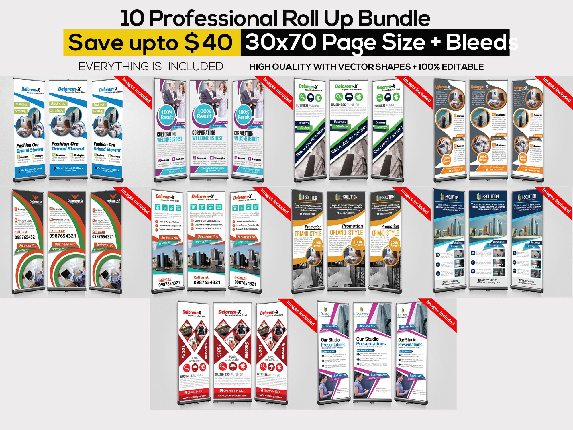 115 Mix Print Template Mega Bundle / Low Priced example image 11