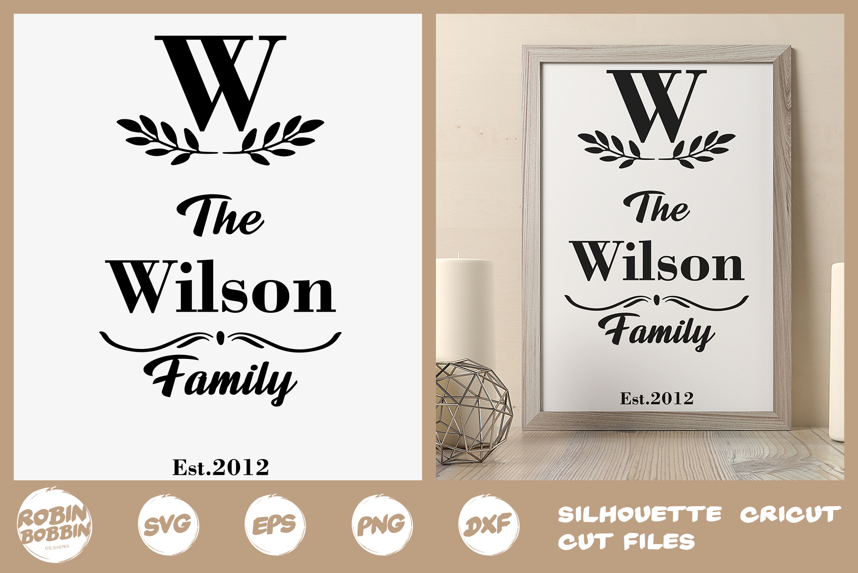 Family SVG, Newlyweds SVG, Family Tree svg, Family Printable example image 1