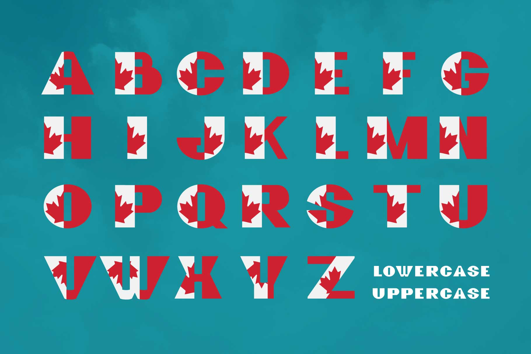 GreatCanadian-font family example image 2