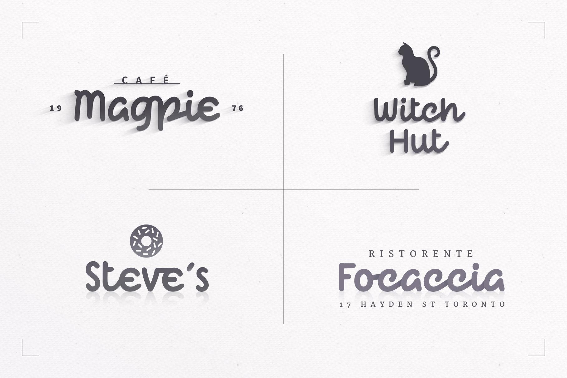 Qliché Typeface example image 4