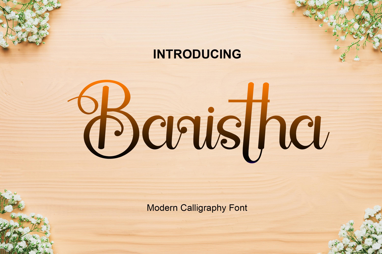 Baristha example image 1