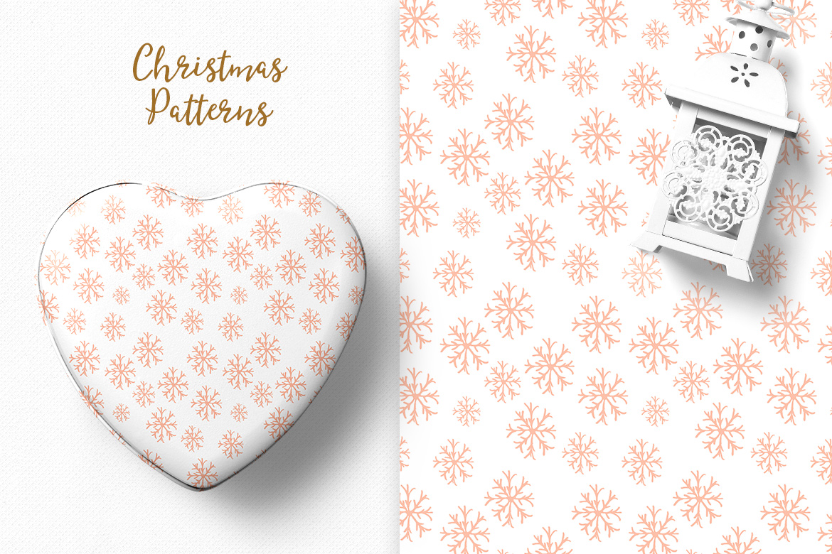 Christmas Pattern Collection example image 4