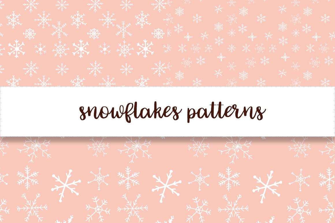 Christmas snowflakes example image 7