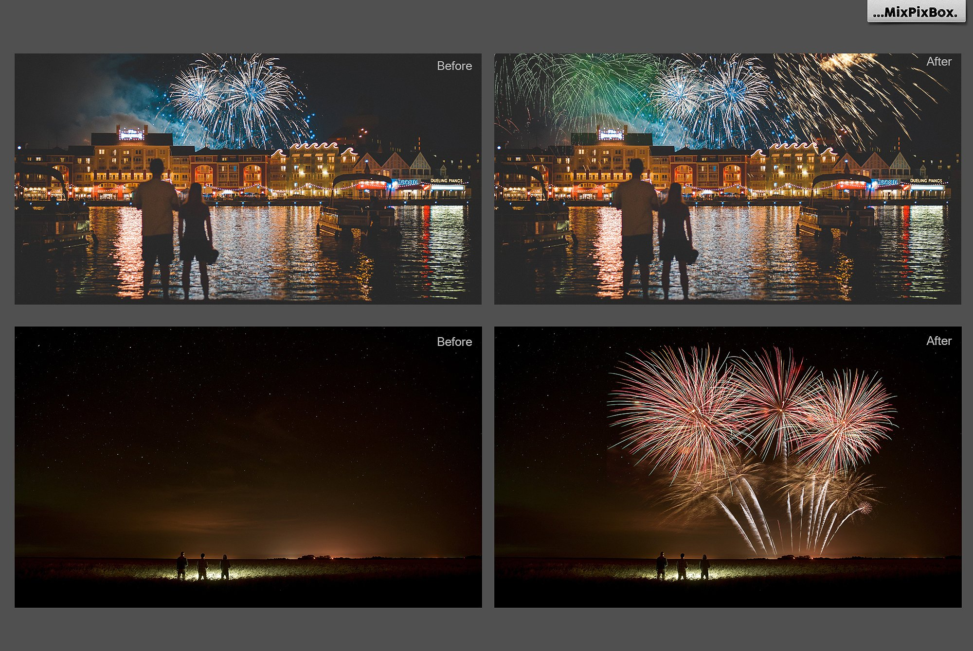 100 Fireworks Overlays example image 5