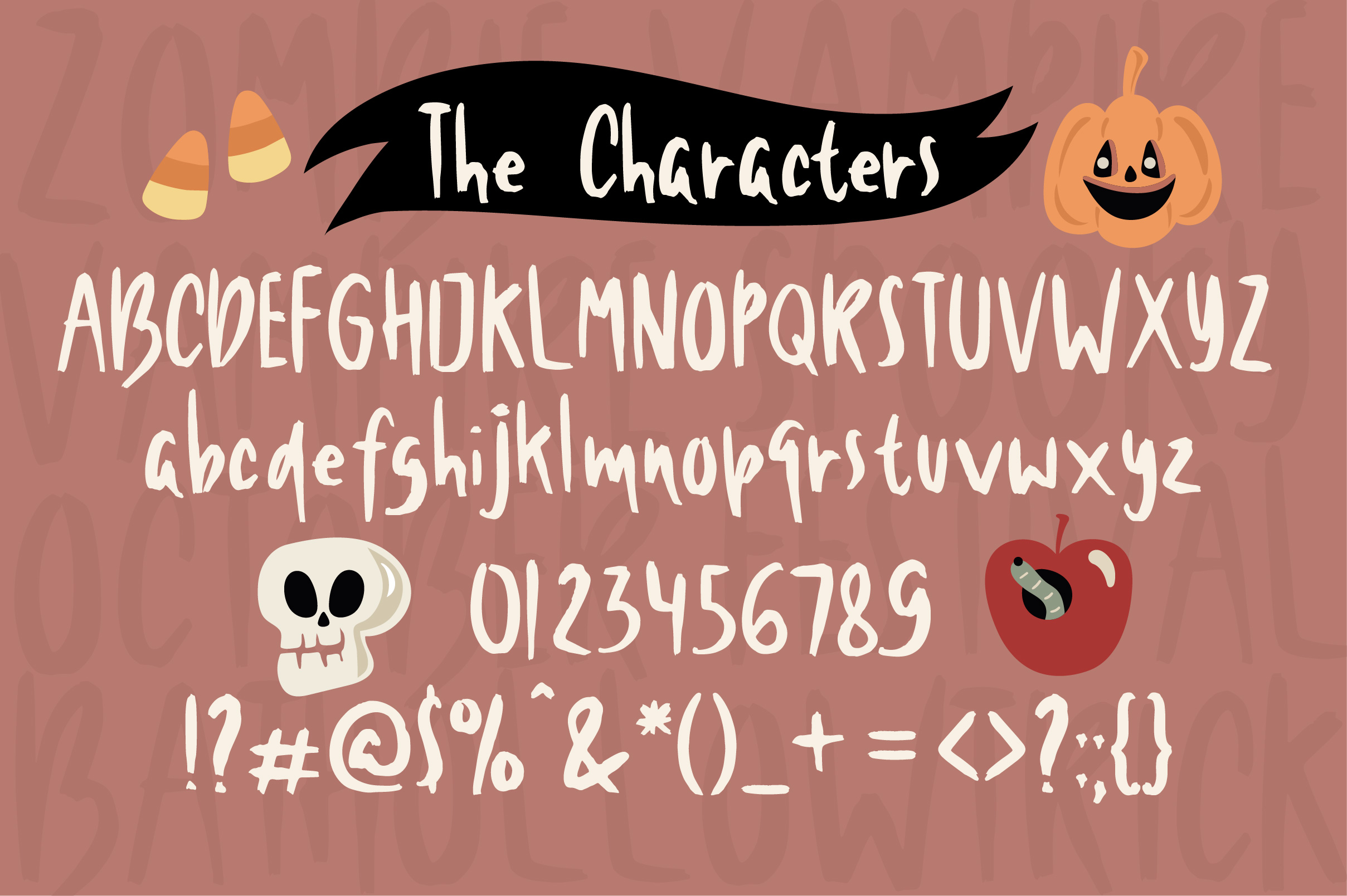 Black Shadows Font example image 2