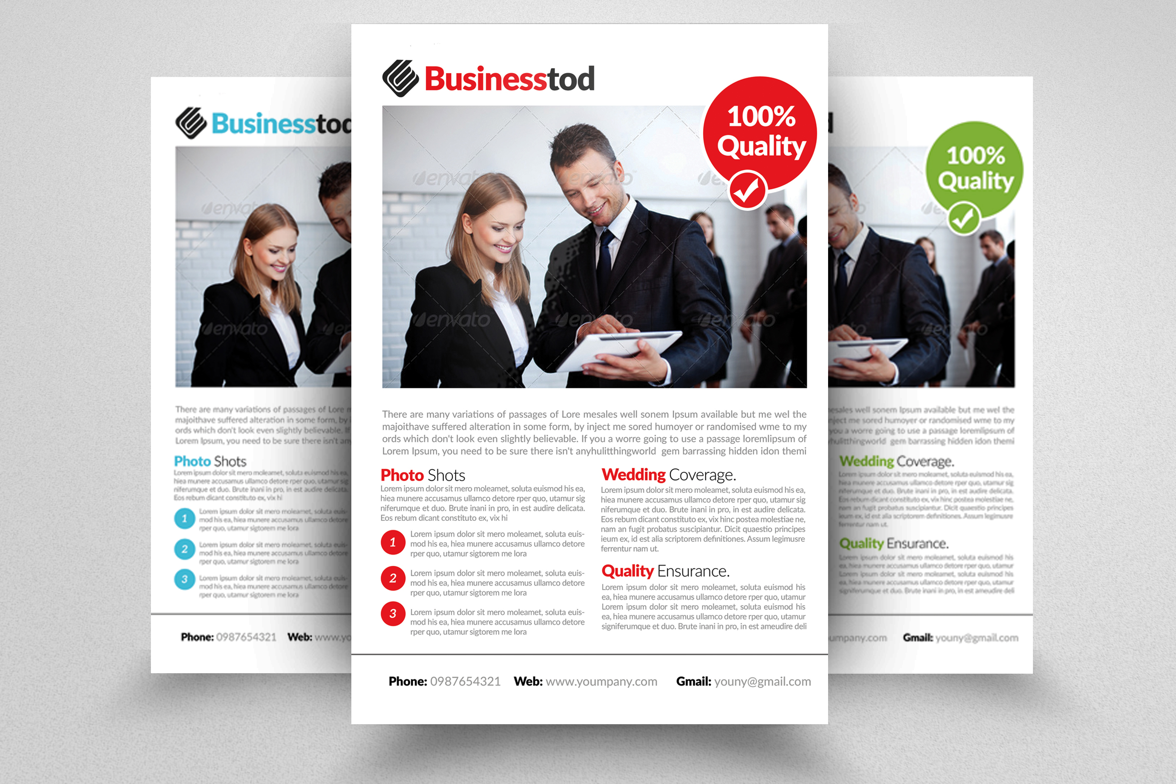 Business Analyst Flyer Template example image 1