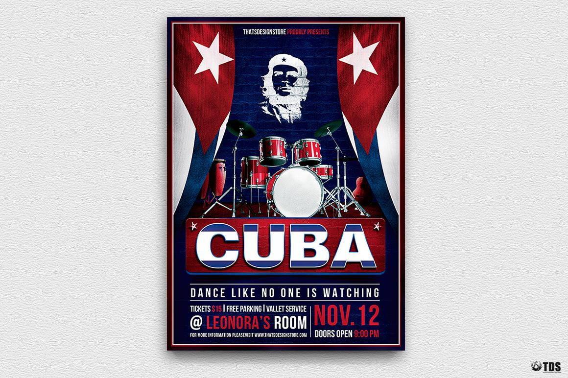 Cuban Flyer Bundle V2 example image 4