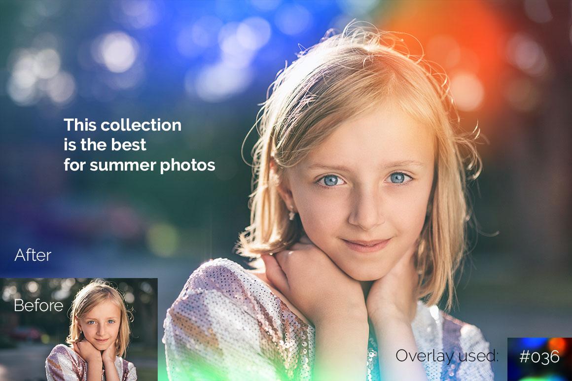 119 Colorful Light Leaks Photo Overlays example image 7