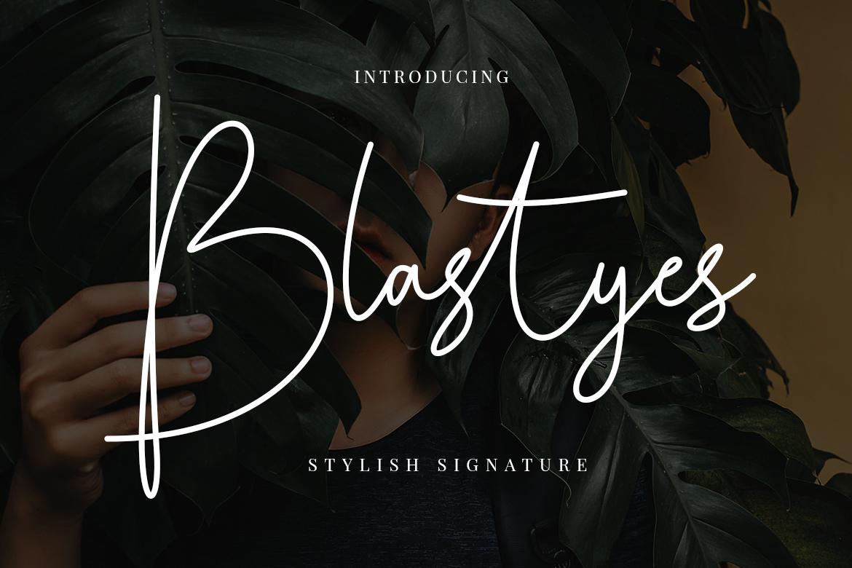 Blastyes Signature example image 1