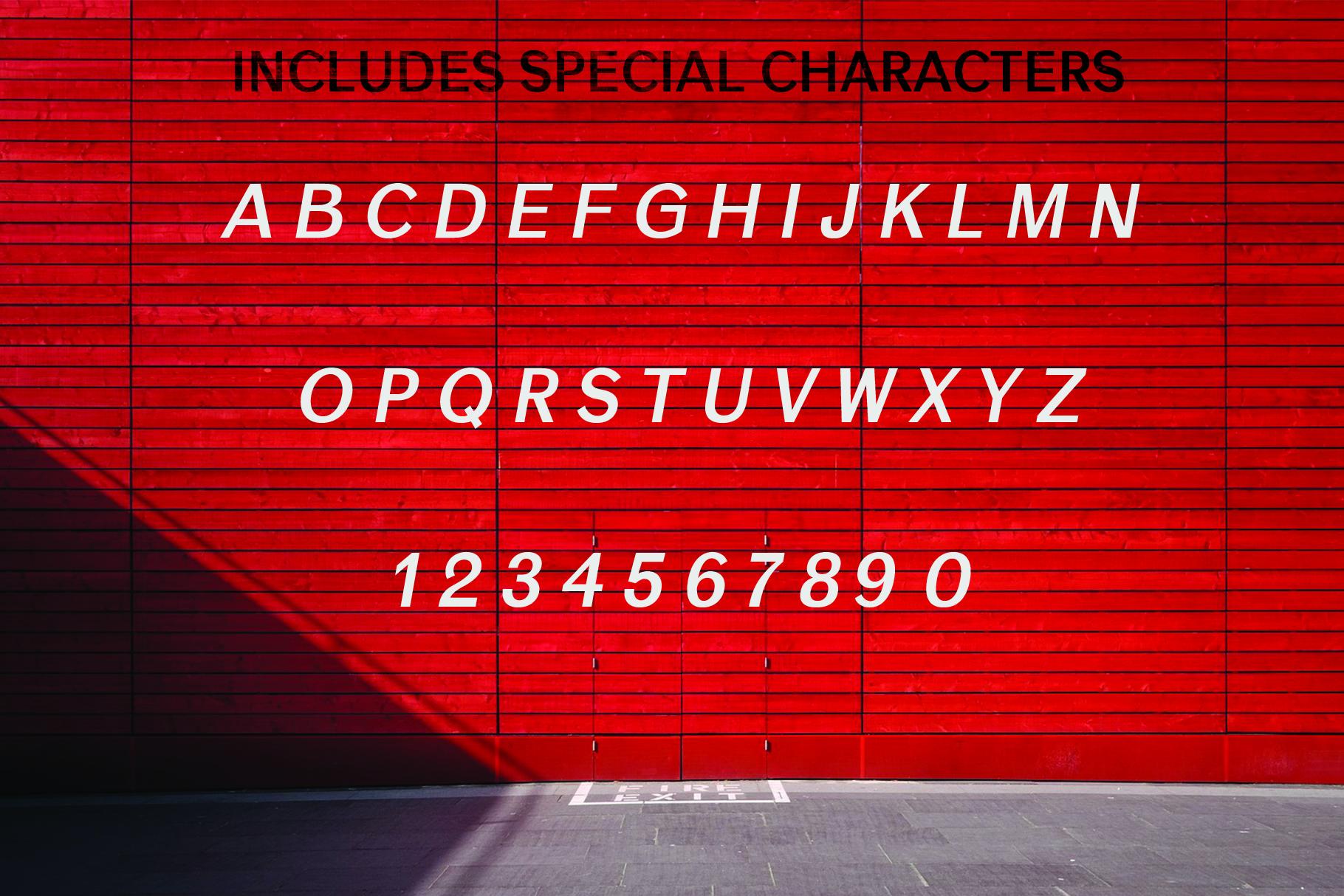 ANASTASIA, A modern typeface example image 2