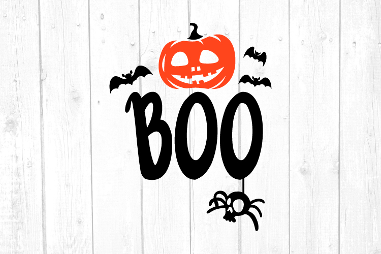 Halloween Svg, Boo Svg, Svg Files, Home Decor, Svg Files example image 1