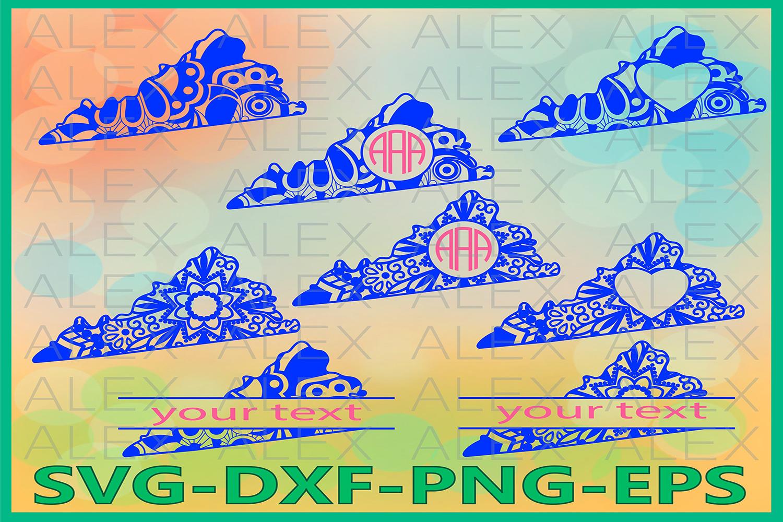 Virginia State SVG, Virginia Mandala SVG, Zentangle svg example image 1