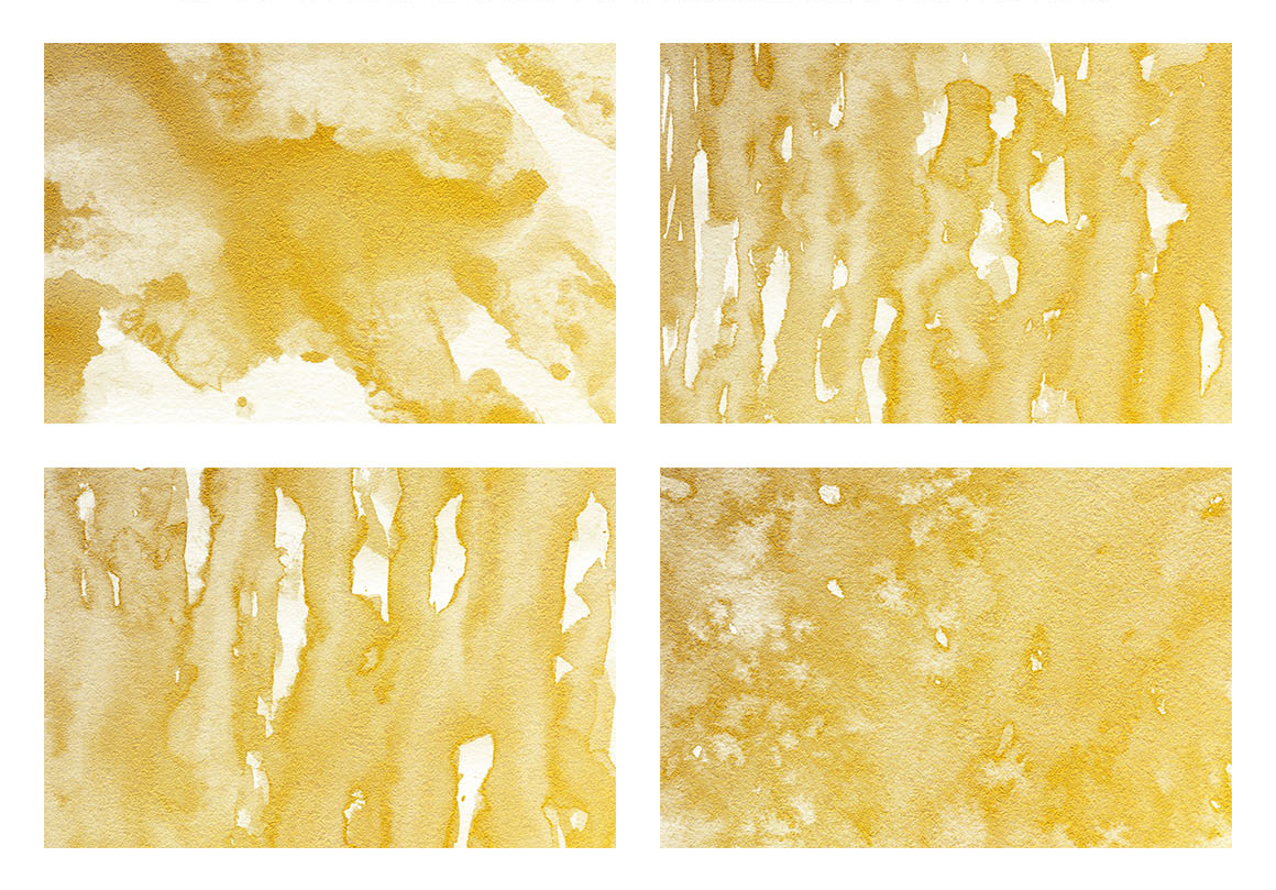 Watercolor Textures White and Gold example image 5