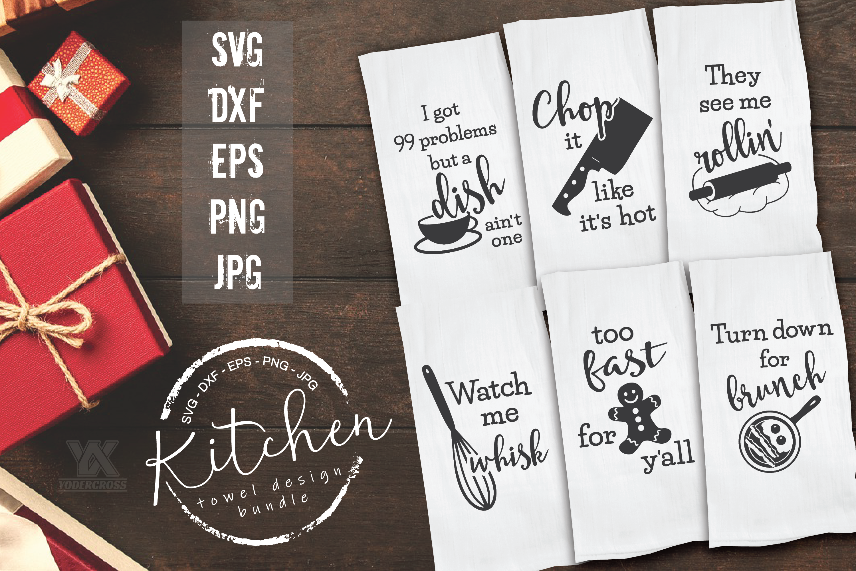 Kitchen SVG Bundle example image 2