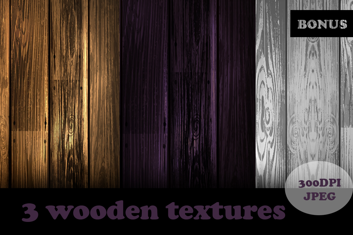 Vector Wooden Boards example image 3