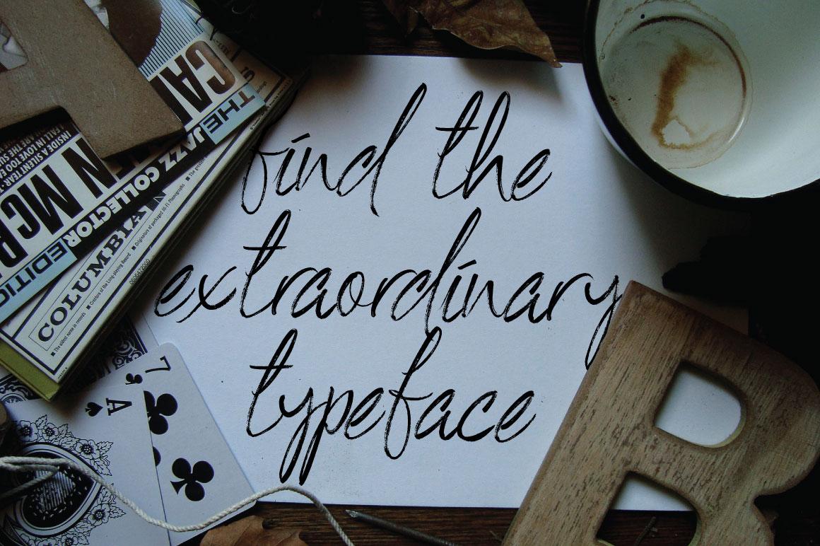 De Black Typeface example image 6