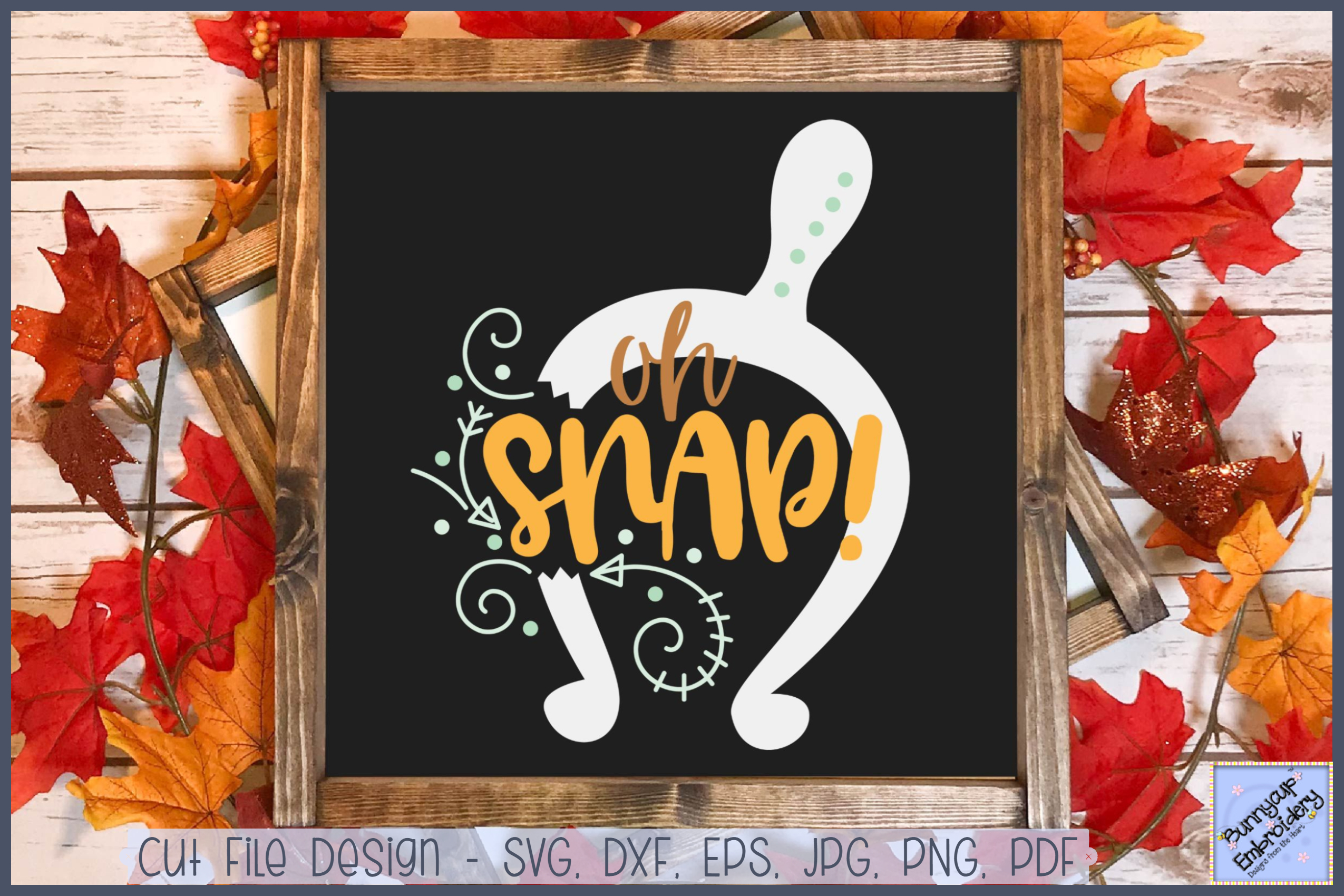 Oh Snap - SVG, Clipart, Printable example image 1