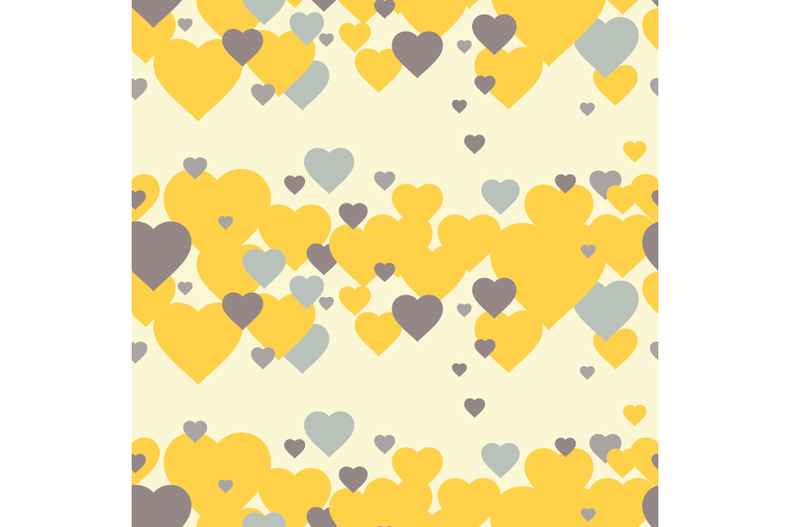 Set of 12 backgrounds with Hearts on Valentine's Day. example image 14